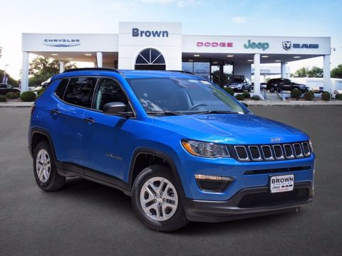 New 2020 Jeep Compass Sport FWD Sport Utility