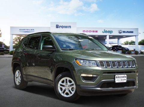 New 2019 Jeep Compass Sport FWD Sport Utility