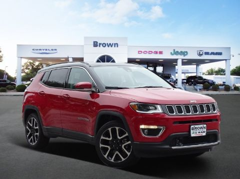 New 2018 Jeep Compass Limited FWD Sport Utility