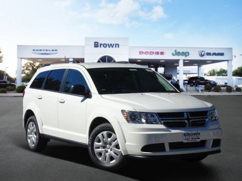 New 2018 Dodge Journey SE FWD Sport Utility