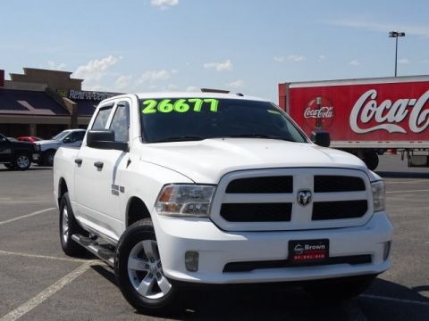 Pre-Owned 2018 Ram 1500 Express Rear Wheel Drive Short Bed