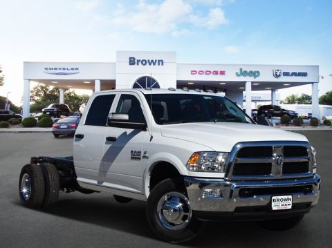 New 2018 Ram 3500 Chassis Cab Tradesman 4WD