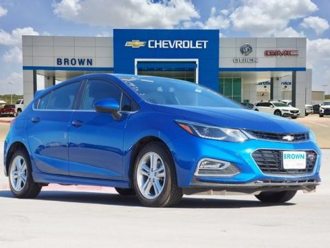 New 2018 Chevrolet Cruze 4dr HB 1.4L LT w/1SD Front Wheel Drive Hatchback
