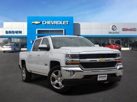 New 2018 Chevrolet Silverado 1500 2WD Crew Cab 143.5 LT w/1LT Rear Wheel Drive Short Bed