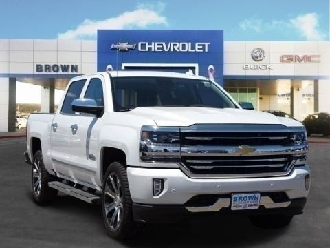New 2018 Chevrolet Silverado 1500 2WD Crew Cab 143.5 High Country Rear Wheel Drive Short Bed