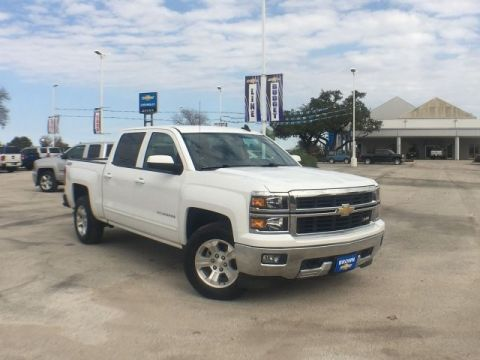 Pre-Owned 2015 Chevrolet Silverado 1500 4WD Crew Cab 143.5 LT w/1LT Four Wheel Drive Short Bed