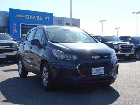 New 2019 Chevrolet Trax FWD 4dr LS Front Wheel Drive Sport Utility