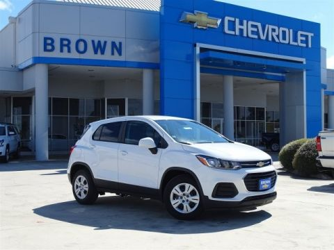 New 2019 Chevrolet Trax 2019 CHEVROLET TRAX LS 4DR SUV 100.6 WB Front Wheel Drive Sport Utility