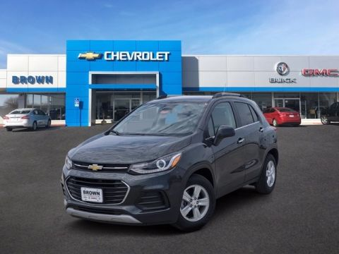 New 2020 Chevrolet Trax FWD 4dr LT Front Wheel Drive SUV