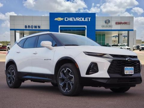New 2019 Chevrolet Blazer FWD 4dr RS Front Wheel Drive SUV