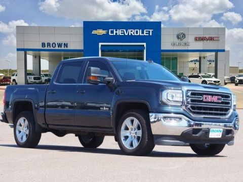 New 2018 GMC Sierra 1500 2WD Crew Cab 143.5 SLE Rear Wheel Drive Short Bed