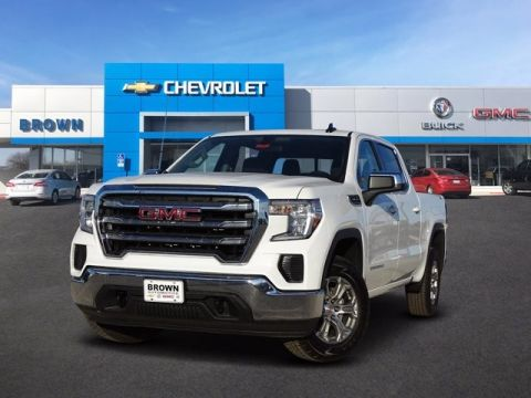 New 2020 GMC Sierra 1500 4WD Crew Cab 147 SLE Four Wheel Drive Short Bed