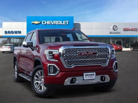 New 2019 GMC Sierra 1500 4WD Crew Cab 147 Denali Four Wheel Drive Short Bed