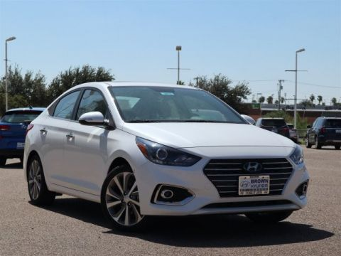 New 2020 Hyundai Accent Limited Sedan IVT Front Wheel Drive 4dr Car