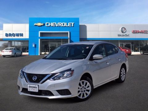 Pre-Owned 2019 Nissan Sentra S Front Wheel Drive Sedan