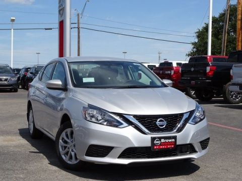 New 2019 Nissan Sentra SV Front Wheel Drive 4dr Car