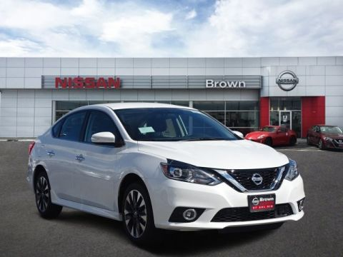 New 2019 Nissan Sentra SR Front Wheel Drive Sedan