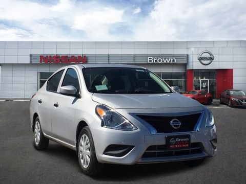 New 2019 Nissan Versa Sedan S Plus Front Wheel Drive Sedan