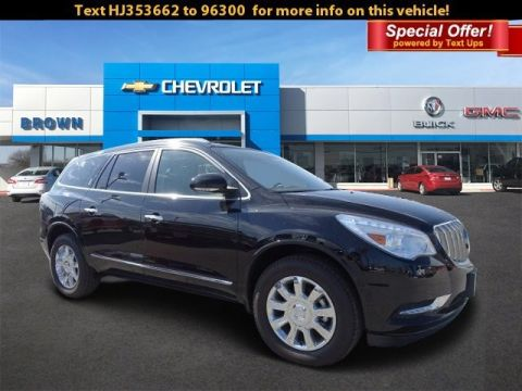 New 2017 Buick Enclave FWD 4dr Leather Front Wheel Drive SUV