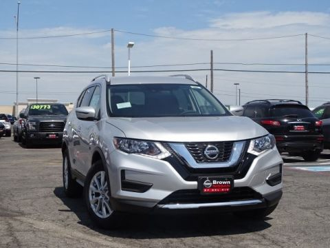 New 2019 Nissan Rogue S Front Wheel Drive SUV