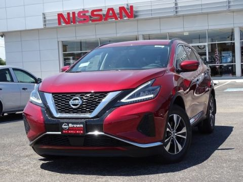New 2019 Nissan Murano SV Front Wheel Drive Sport Utility