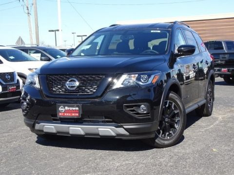 New 2019 Nissan Pathfinder SV Front Wheel Drive SUV