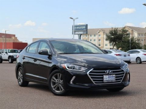 Pre-Owned 2018 Hyundai Elantra Limited 2.0L Auto Front Wheel Drive Sedan
