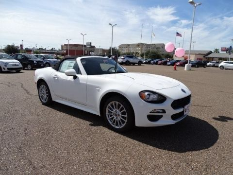 New 2017 FIAT 124 Spider Classica Rear Wheel Drive Convertible