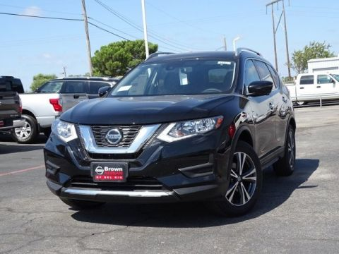 New 2019 Nissan Rogue SV Front Wheel Drive SUV