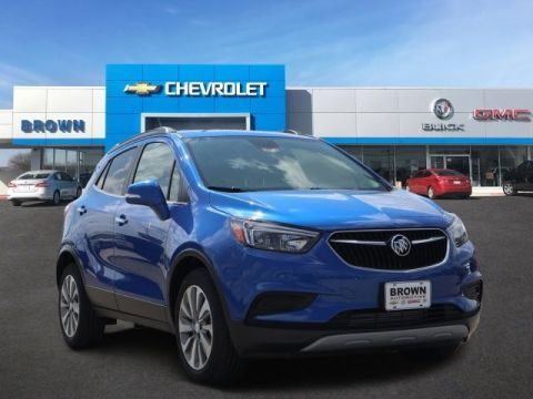 New 2018 Buick Encore FWD 4dr Preferred Front Wheel Drive SUV