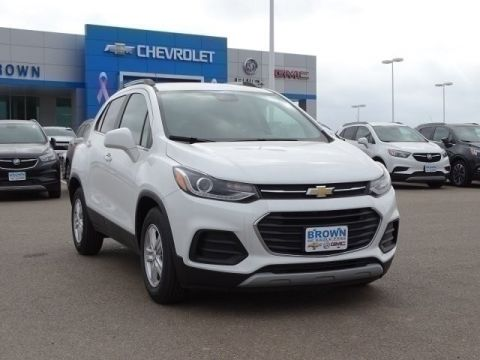 New 2019 Chevrolet Trax FWD 4dr LT Front Wheel Drive Sport Utility