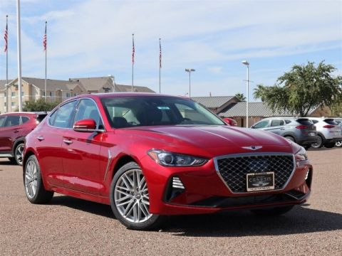 New 2020 Genesis G70 2.0T Rear Wheel Drive 4dr Car