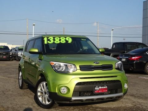 Pre-Owned 2018 Kia Soul + Front Wheel Drive Hatchback