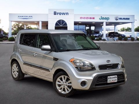 Pre-Owned 2012 Kia Soul + FWD Hatchback
