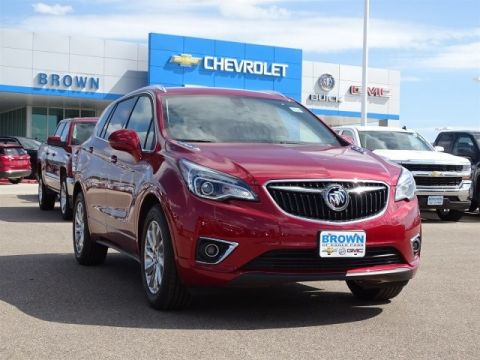New 2019 Buick Envision FWD 4dr Essence Front Wheel Drive Sport Utility