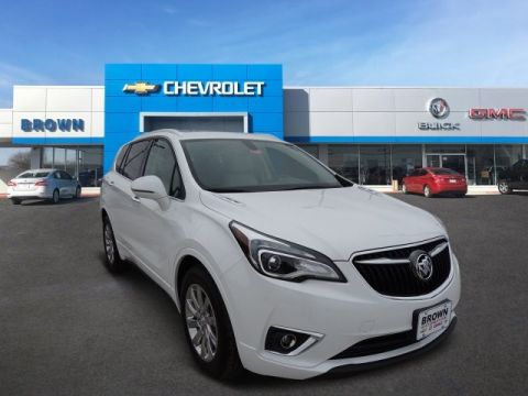 New 2019 Buick Envision FWD 4dr Essence Front Wheel Drive SUV